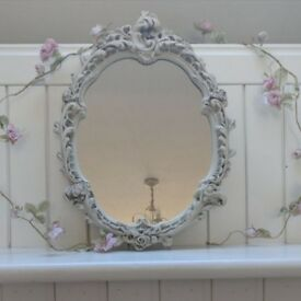 Ornate vintage mirror
