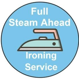 Full Steam Ahead Ironing Service