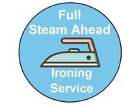 Full Steam Ahead Ironing Service
