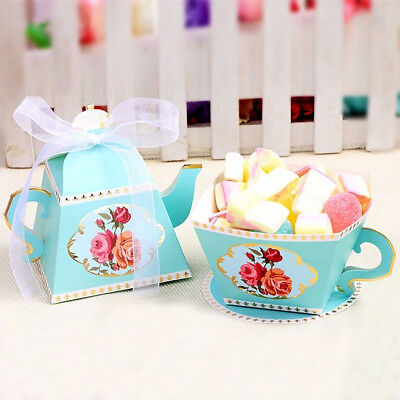 Candy Box Tea Party Favors Wedding Gifts for Guests Bridal Shower Birthday Party - Bridal Shower Gifts For Guests