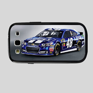 NASCAR Jimmy Johnson #48 Samsung Galaxy S3  TPU/PC Case LS