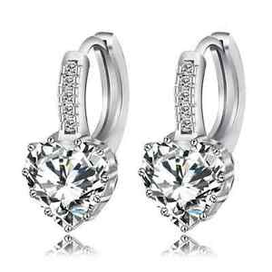 9K-YELLOW-ROSE-WHITE-GOLD-GF-LOVE-HEART-DIAMOND-HOOP-HUGGIES-SOLID-LADY-EARRINGS