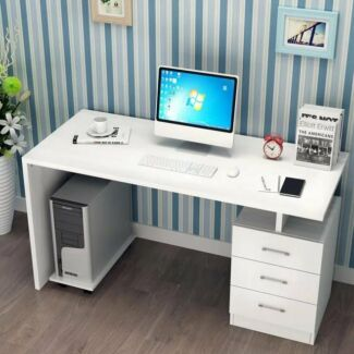 Brand New Computer Desk with 3 Drawers 120x60cm