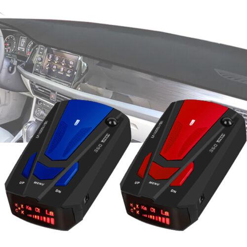 Car 16 Band 360degree V7 Gps Speed Safety Radar Detector Voice Alert Laser Led