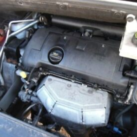 USED - Peugeot engines Fits ALL: 1.6 5FW coded / Citroen / C4 / GRAND PICASSO PETROL ENGINE