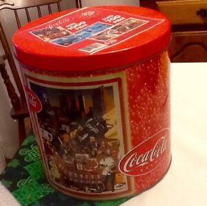 Coca -Cola Tin with Puzzles 1000 pc. (2) 700 pc.