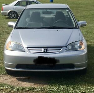 2003 Honda Civic LX - reduced price. Excellent commuter
