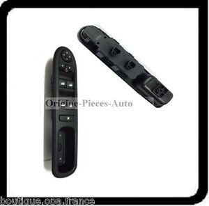 interrupteur bouton de leve vitre lectrique avant arriere peugeot 307 ebay. Black Bedroom Furniture Sets. Home Design Ideas