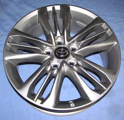 """17"""" New TOYOTA CAMRY 2017 OE SILVER WHEELS Set of (4) 17x7 OEM FACTORY RIMS"""