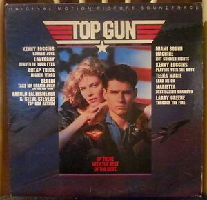 TOP GUN Vinyl Album OST 1986 *Great Song List* Tom Cruise
