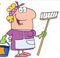 CLEANING LADY AVAILABLE NOW in Pickering, Ajax, Whitby& Oshawa