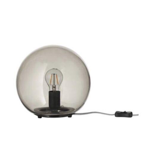 NEW IKEA FADO STYLISH ROUND TABLE / BEDSIDE LAMP DIAMETER 25