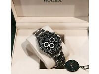 2017 Rolex Daytona Black ceramic 116500LN