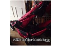 Phil&Teds Sport buggy with doubles kit
