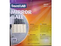 Sound lab mirror ball 16inch