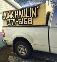 Junk hauling appliance removal 306-371-6168