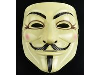 V For Vendetta/Guy Fawkes masks, 60 masks in total! Job lot/wholesale, priced just 75p each