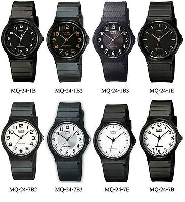 Casio Mens Casual Classic Analog Watch Resin Band New MQ24
