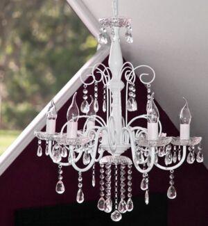 Elegant chandelier (original price $250)  - BRAND NEW (4 spare globes)