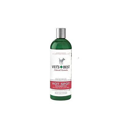 VETS BEST Hot Spot Shampoo for Dogs & Pets - 16oz - Soothes Irritated (Best Pets For Adults)