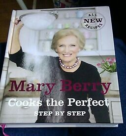 mary berry cooks the perfect step by step book