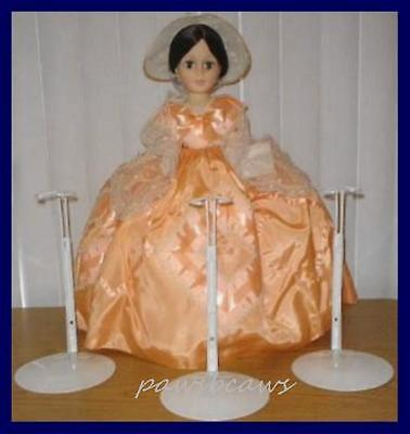 "Set of 3 Kaiser Doll Stands for MA 21"" Portrait & 20"" Vintage Cissy"