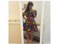 Colourful vintage dress
