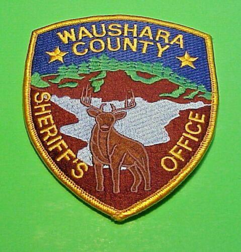 "WAUSHARA COUNTY  WISCINSIN  WI  SHERIFF  5""  POLICE PATCH  FREE SHIPPING!!!"