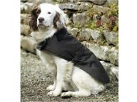 BARBOUR DOG COAT HAVE LABELS & PACKAGING XL OLIVE * USED TWICE *