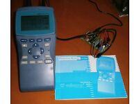 Hand held oscilloscope 1Mhz BW