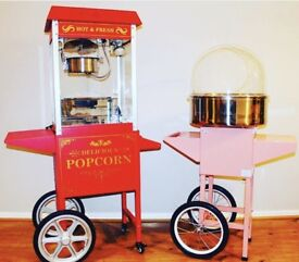 Candy Floss and Pop Corn Machine