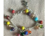 Made for an angel silver plated bracelet - New