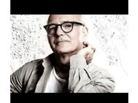 Tickets for Ludovico Einaudi. Block L. Row D18&D20.