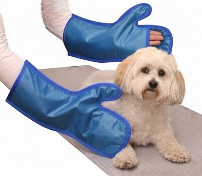 New-x-ray Protection-vet Mitts-color Blue-model 20802