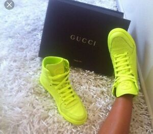 gucci neon shoes
