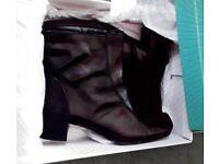 Clarkes Genuine Leather ladies boots