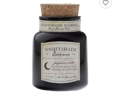Nightshade Essence 9 oz. Jar Candle ~ Halloween ~ NWT