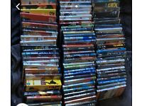 Dvds and blu rays for sale