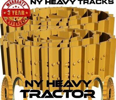 Case 450b Track Groups X2 36 Link Salt Chains W 16 Single Bar Pads Dozer