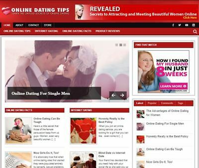 Online Dating Ready Made Blog - Established Profitable Turnkey Website For Sale