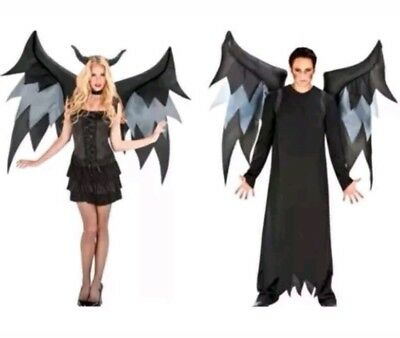 Inflatable Demon Wings Adults Halloween Costume Blower - Halloween Costume Demon Wings