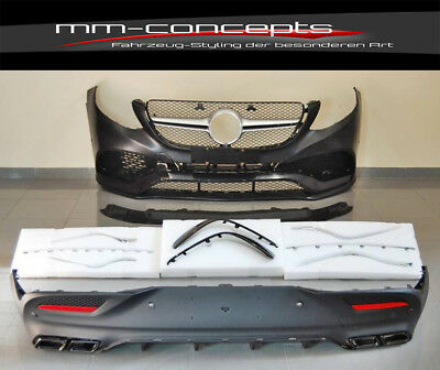 Bodykit für Mercedes GLE Coupe W292 Stoßstange Front Heck Set AMG Diffusor ABS