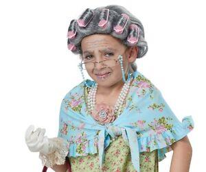 Old Lady Kit Grandma Child Costume Set