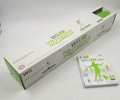 (Brand New) NINTENDO Wii Fit YOGA MAT with Wii Fit Plus +...
