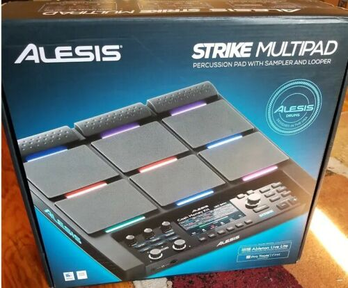 New Alesis Strike Multipad Sampling Percussion Pad Electronic Workstation
