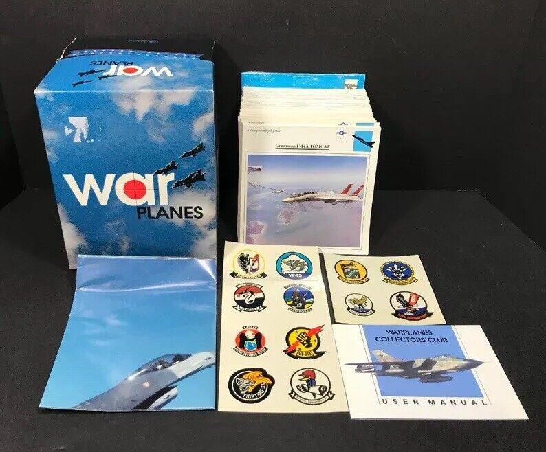 War Planes Collectors Club Cards Boxed Set Educational Atlas Editions