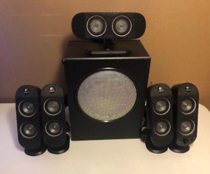 Logitech X-530 5.1 Surround Sound Speakers 70 Watts