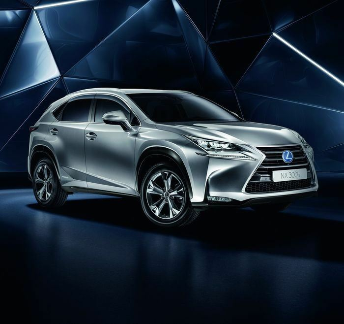 Genuine Lexus NX Wind Deflectors with Chrome Accent 07/14-Present - 0861178810