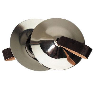 FINGERZIMBEL-PAAR Stahl Zimbel Cymbel Fingerzimbeln Bauchtanzschellen Metall NEU