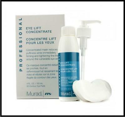 Murad Professional Eye Lift Concentrate Firming Treatment 4oz 80 Contour Pads Lift Eye Contour Concentrate
